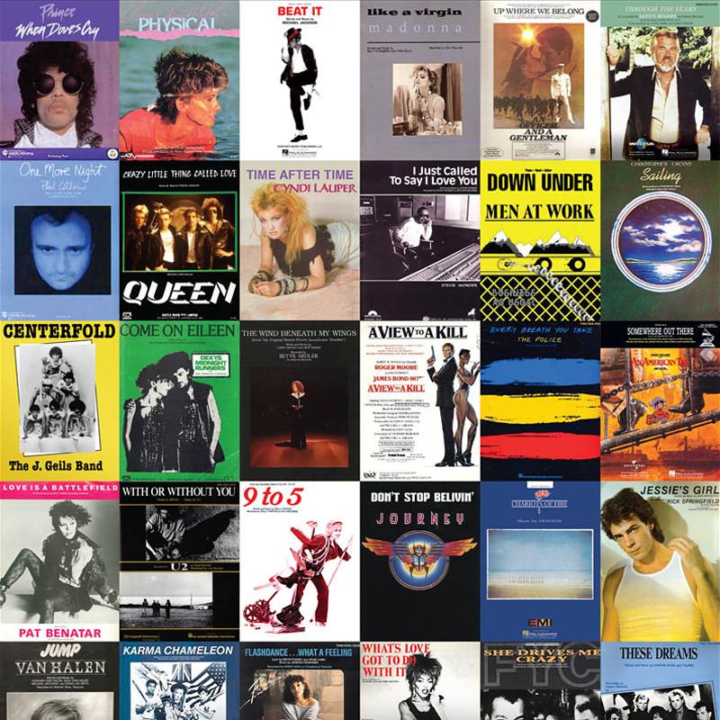 1980s Songs Package
