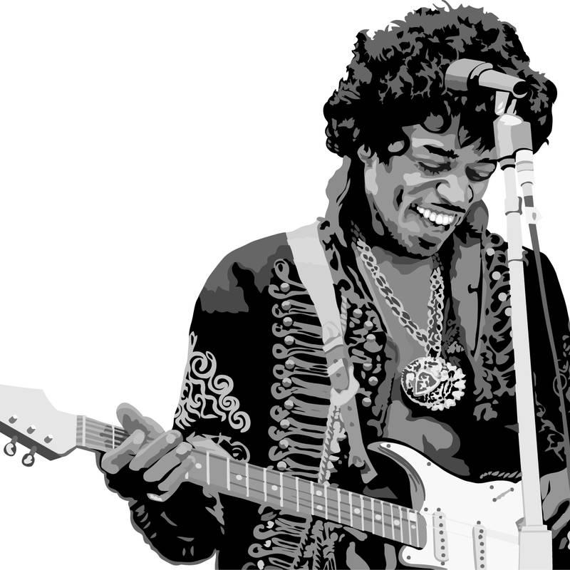 Jimi Hendrix Electric Guitar Pack