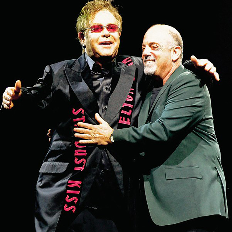 Elton John and Billy Joel Package